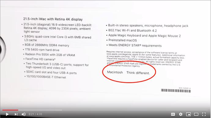 iMac-unboxing