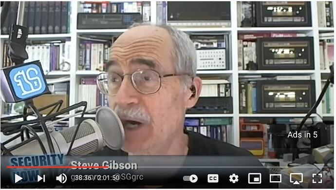 Steve Gibson - Security Now